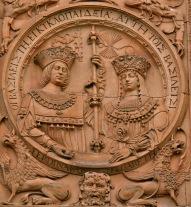 Medallón Reyes Católicos